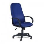 Кресло руководителя Chairman 279 ткань, TW, крестовина пластик, синее