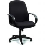 Кресло руководителя Chairman 279 ткань, TW, крестовина пластик, низкая спинка, черный