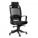 Кресло руководителя Chairman 283 ткань, черная, крестовина пластик