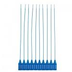 Пломбы пластиковые номерные синие, 330мм, 50шт
