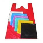 Пакет Майка ПНД 38х20х68см, 15мкм, 100 шт/уп, цветной