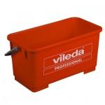 Ведро Vileda Pro Эволюшн 22л, для мытья окон, красное, 500118