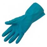 Перчатки защитные Ампаро Риф р.M, зеленый, нитрил, 447513