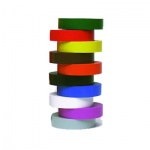 Изолента 3m 15мм х 10м, ПВХ, цветная, 10шт/уп