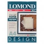 Дизайн-бумага Lomond Кожа, А4, 200г/м2, 10 листов, глянцевая, для струйной печати