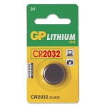 Батарейка Gp CR2032, 3В, литиевая