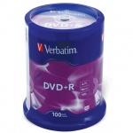 ���� DVD+R Verbatim , 100��