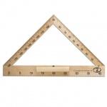 Транспортир Stamm 180°, основание 40см, для доски , деревянный