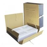 Архивная папка на завязках крафт, А4, 120 мм