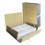 Архивная папка на завязках крафт, А4, 80мм