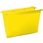 Папка подвесная стандартная А4 Brauberg, 5 шт/уп, желтая