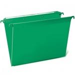 Папка подвесная стандартная А4 Brauberg, 5 шт/уп, зеленая