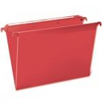 Папка подвесная стандартная А4 Brauberg, 5 шт/уп, красная