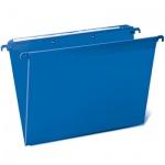Папка подвесная стандартная А4 Brauberg, 5 шт/уп, синяя