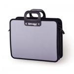 Портфель пластиковый Brauberg Премьер серый, 390х315х120мм, 3 отделения