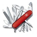 Нож офицерский 91мм Victorinox Handyman 1.3773, 24 функции, 6 уровней, красный