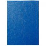 Обложки для переплета картонные Fellowes Chromo, А4, 270 г/кв.м, 100шт, синие