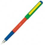 Ручка перьевая Centropen Mars Plus, F, два запасных баллончика