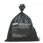 Мешки для мусора Лайма Класс Г медицинские 30л, черные, 18мкм, 50шт/уп