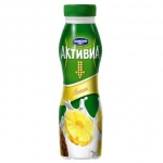 Йогурт питьевой Активиа 2% ананас, 290г