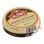 Крем для обуви Kiwi для гладкой кожи, бесцветный, 50мл