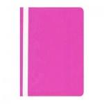 Скоросшиватель пластиковый Бюрократ розовый, А4, PS20PINK