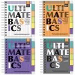Блокнот Альт Ultimate Basics А6, 150 листов, в клетку, на спирали, пластик