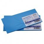 Конверт почтовый Курт С65 голубой, 114х229мм, 120г/м2, 5шт, стрип