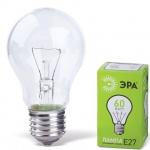 Лампа накаливания Эра, Е27, 60Вт