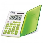Калькулятор карманный Staff STF-62 зеленый, 8 разрядов