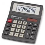 Калькулятор настольный Staff STF-8008 черный, 8 разрядов