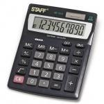 Калькулятор настольный Staff STF-1210 черный, 10 разрядов