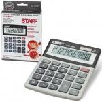 Калькулятор настольный Staff STF-5810 серый, 10 разрядов