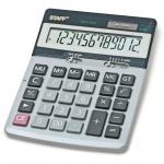 Калькулятор настольный Staff STF-1312 серебристый, 12 разрядов