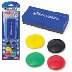 Набор для магнитной маркерной доски Brauberg 7 предметов