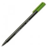 Ручка-роллер Staedtler Triplus зеленая, 0.4мм