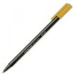 Ручка-роллер Staedtler, 0.4мм, оранжевая