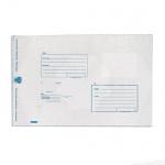 Пакет почтовый полиэтиленовый Suominen В4 белый, 250х353мм, 70мкм, 1шт, стрип, Куда-Кому
