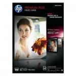 Фотобумага для струйных принтеров Hp Premium Plus А4, 20 листов, 300 г/м2, полуглянцевая