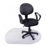 Коврик под кресло Clear Style U-образный 990х1250мм, 2.3мм, 1212, для коврового покрытия