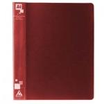 Папка на 4-х кольцах А4 Бюрократ, 18 мм, красная