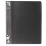 Папка на 4-х кольцах А4 Бюрократ серая, 27 мм, 0827/4Rgrey