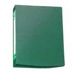 Скоросшиватель пружинный Бюрократ зеленый, А4, PZ05PGREEN