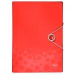 Папка-органайзер Leitz Bebop красная, А4, 5 разделов, 45790025