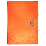 Папка-органайзер Leitz Bebop оранжевая, А4, 5 разделов, 45790045
