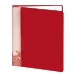 Папка файловая Бюрократ красная, А4, на 30 файлов, BPV30RED