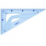 Угольник Maped Geometric 26см, 30°/60°, голубой, 242626