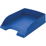 Лоток горизонтальный для бумаг Leitz Plus Standard A4, синий, 52272035