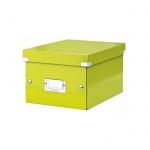 Архивный короб Leitz Click & Store-Wow, A5, 220x160x282 мм, зеленый