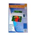 Плёнка для ламинатора 65х108мм Profioffice, 80мкм, 100шт
